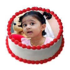 Cute  photo cake (code:46)