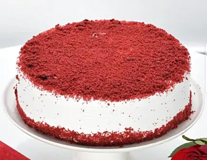 1kg Red velvet cake for valentine's day (code:25)