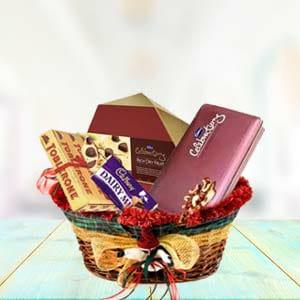 Super mix chocolate basket (code:133)