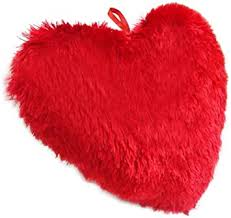 Soft Heart Shaped pillow (code:139)