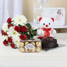 Elegant combo with Teddy for your sister (code:146)