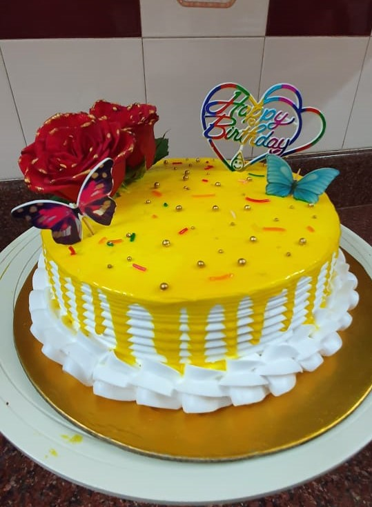 1 kg yellow pineapple cake (code:235)
