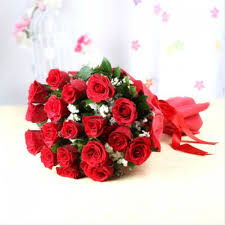 20 Red Roses bouquet for rose day(code: 256)