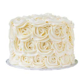 1 Kg beautiful vanilla cake (code: 229)