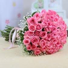 40 pink rose bouquet for rose day (code:263)