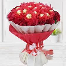 handmade chocolate bouquet (code: D)