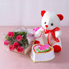 best combo for teddy day