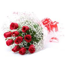 10 Roses bouquet for Rose day  (code: 260)