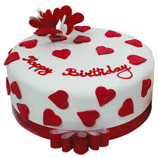 yummy cute cake for valentines day (code: G)