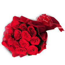 15 red roses bouquet for your valentine (code: 234)