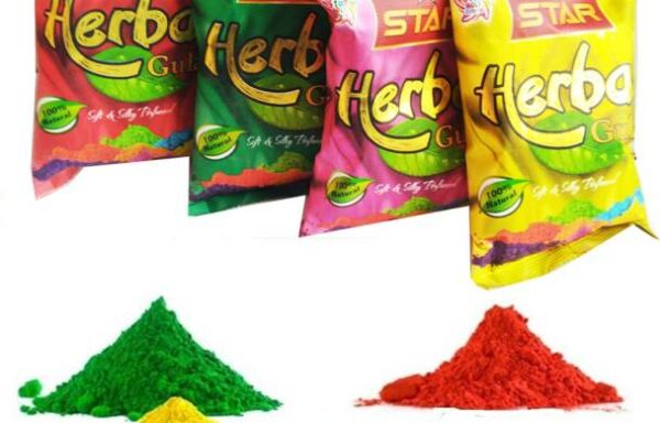 Amazing herbal colours for holi